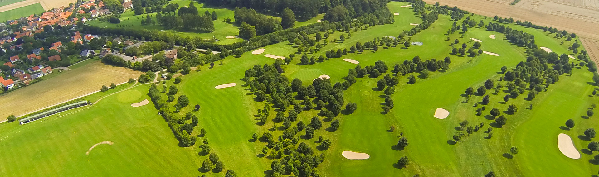 Luftbild Crew Hamburg - Luftaufnahme Golf Club Sieben Berge Rheden